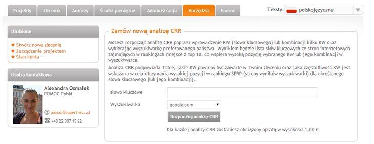 Analiza CRR
